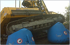 Landing Bags for Heavy Equipment